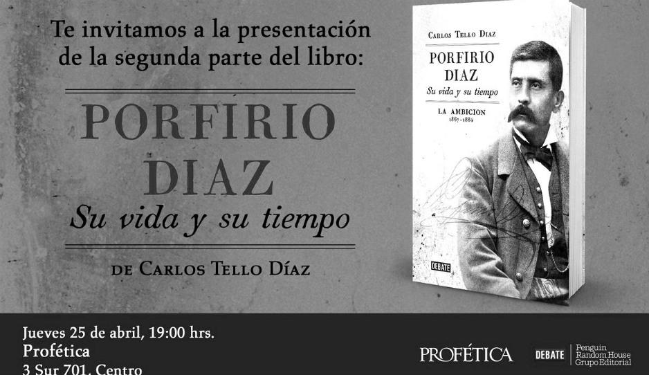 La ambición, capítulo de la vida y tiempo de Porfirio Díaz, se presenta en Puebla