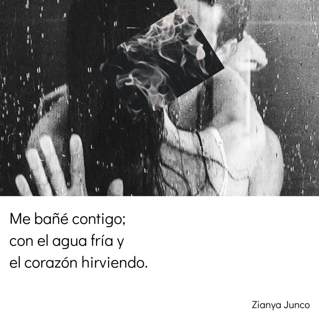 Me bañé contigo