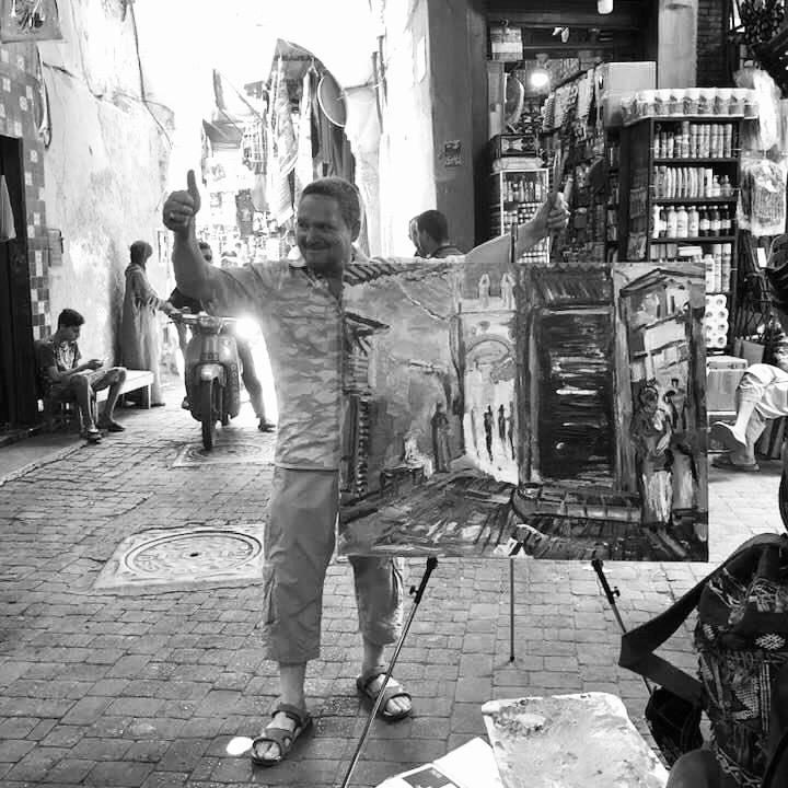"""Manolo Rivera: """"La pintura es una lucha de contrarios que no destruye, es creadora"""""""
