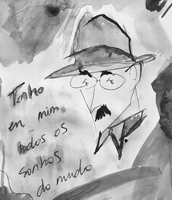 Fernando Pessoa y el día del desasosiego