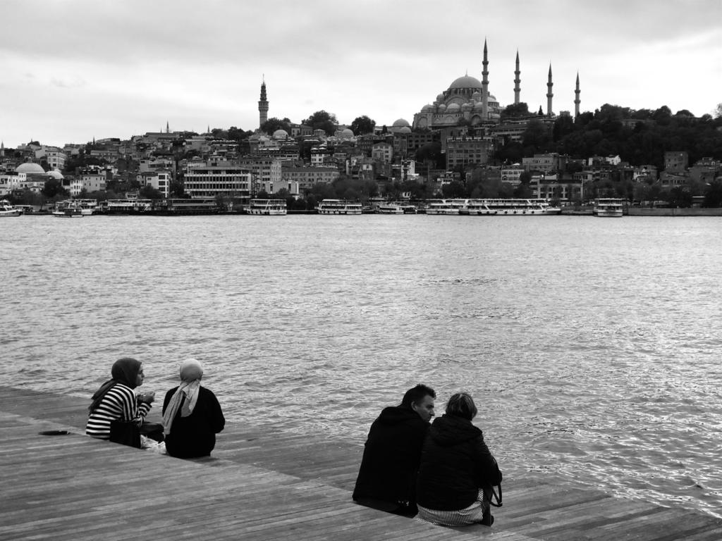 [Visita a un café turco]