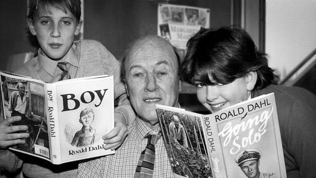 La otra vida de Roald Dahl