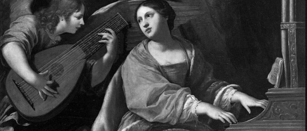 La música y Santa Cecilia