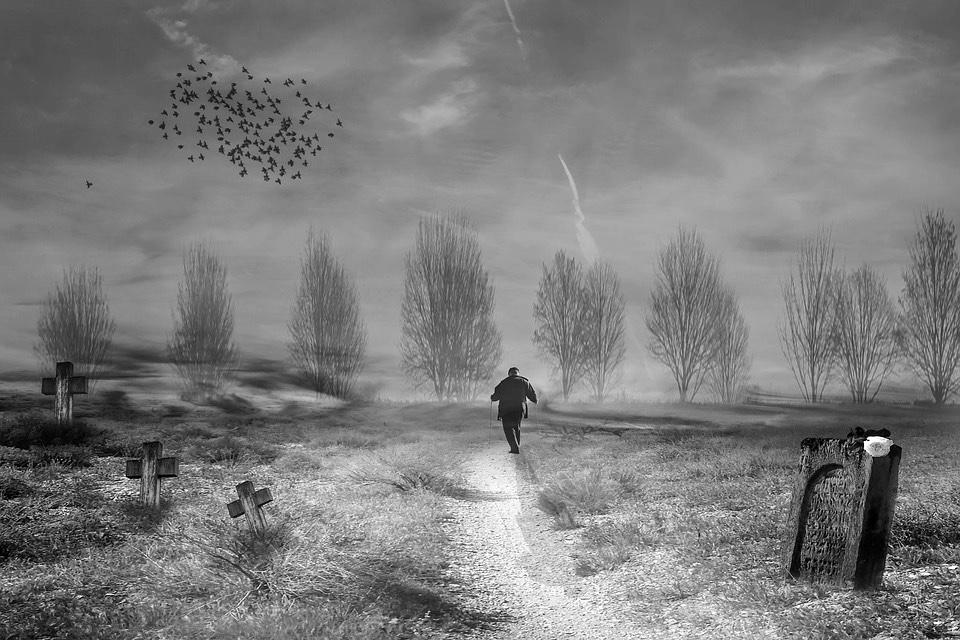 Un cuento de Maupassant: La tumba