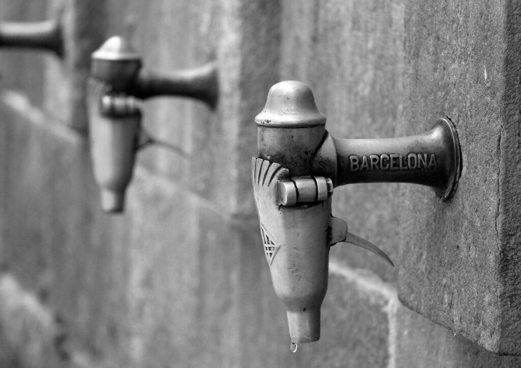 Barcelona está gris
