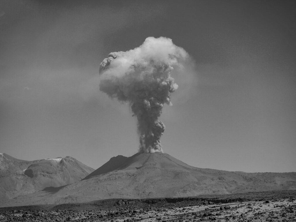 Pensamientos sobre volcanes extintos