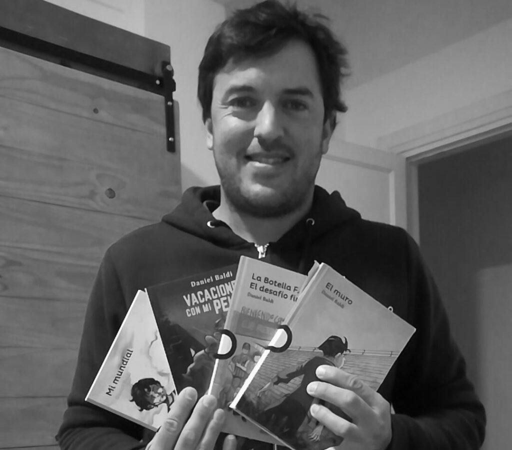 Daniel Baldi: El éxito es cambiarle la vida a un niño con un libro