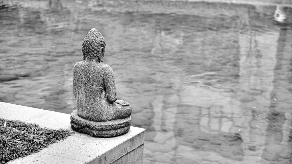Buda triste