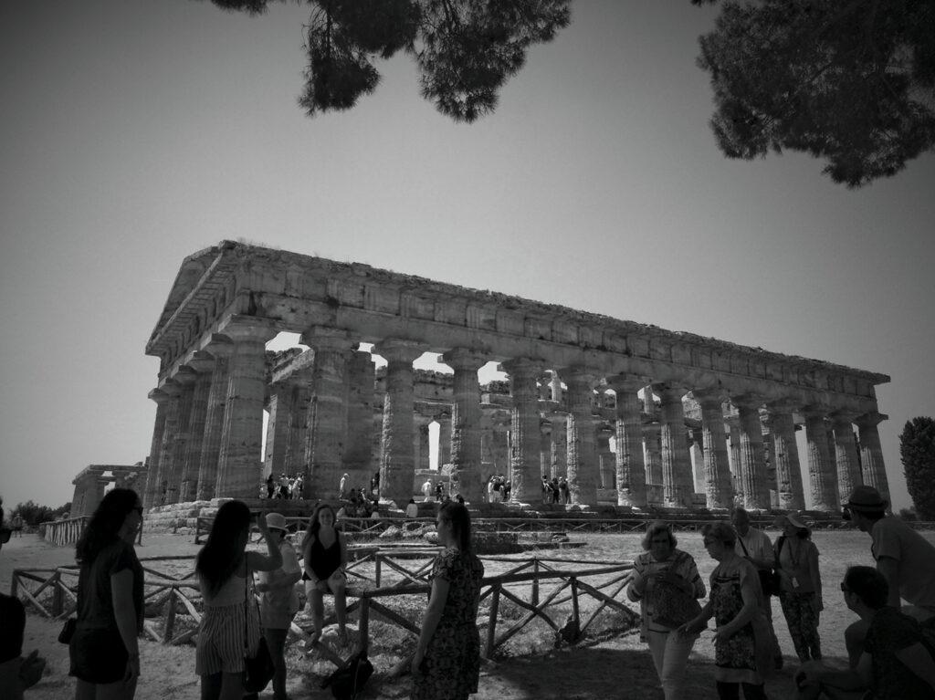 Paestum: un salto al infinito