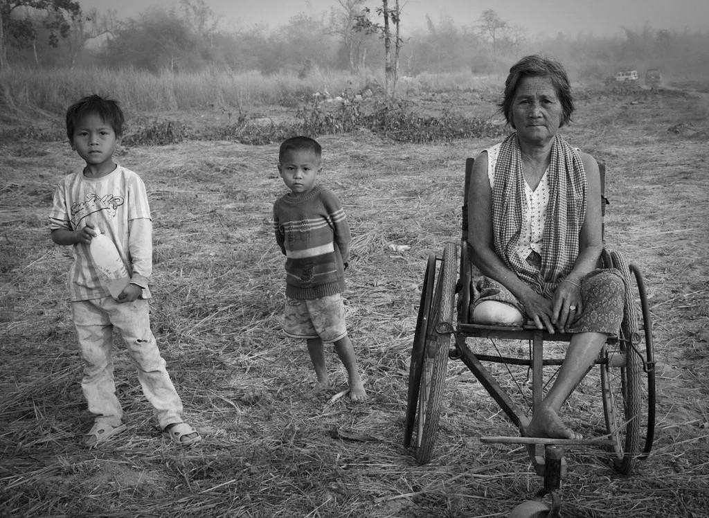 Minas antipersonas: herencia camboyana