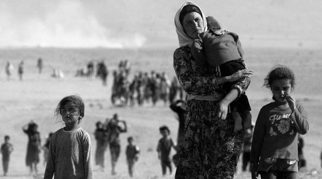 El genocidio yazidí